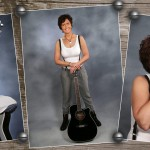 Portraits mit Gitarre